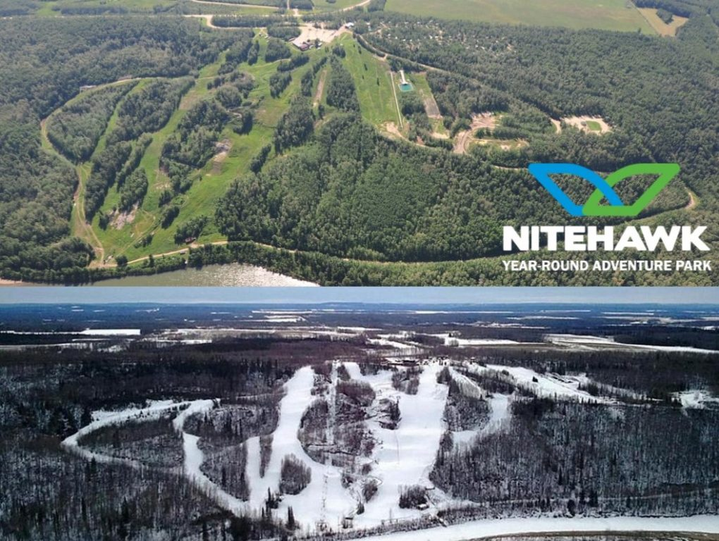 Nitehawk Summer-Winter Aerial View (w logo)