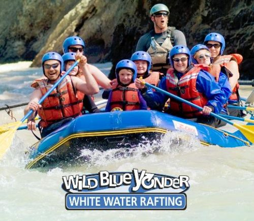 Wild Blue Yonder - White Water Rafting